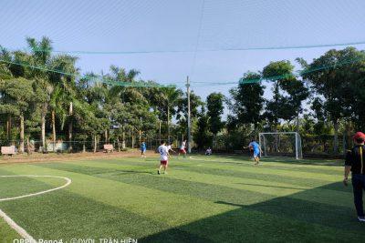 Giao lưu bóng đá mini nam chào mừng kỷ niệm 38 năm Ngày Nhà giáo Việt Nam (20/11/1982 – 20/11/2020)