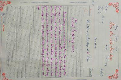 """Tổ khối 3 Trường tiểu học Thị Trấn 1 Tổ chức Giao lưu """"Câu lạc bộ Viết chữ đẹp"""""""