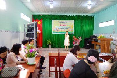 Trường Tiểu học Thị Trấn 1 tổ chức họp mặt kỷ niệm 38 năm Ngày Nhà giáo Việt Nam (20/11/1982 – 20/11/2020).